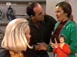 Helen Daniels, Philip Martin, Julie Martin in Neighbours Episode 2168