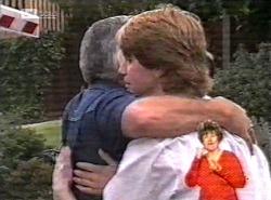 Danni Stark, Lou Carpenter, Brett Stark in Neighbours Episode 2168