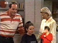Philip Martin, Julie Martin, Helen Daniels in Neighbours Episode 2168