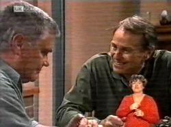 Lou Carpenter, Doug Willis in Neighbours Episode 2169