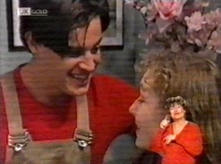 Rick Alessi, Debbie Martin in Neighbours Episode 2169