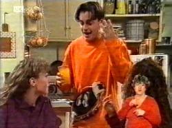 Debbie Martin, Rick Alessi, Cody Willis in Neighbours Episode 2169