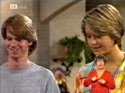 Brett Stark, Danni Stark in Neighbours Episode 2169