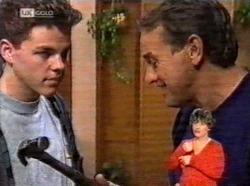 Michael Martin, Doug Willis in Neighbours Episode 2170