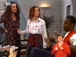 Gaby Willis, Cody Willis, Drew Grover in Neighbours Episode 2170