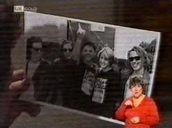 Michael Martin, Danni Stark, Brett Stark in Neighbours Episode 2170