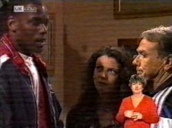 Drew Grover, Gaby Willis, Doug Willis in Neighbours Episode 2170