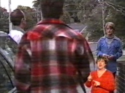 Philip Martin, Michael Martin, Danni Stark in Neighbours Episode 2170