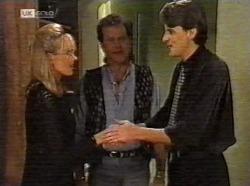 Annalise Hartman, Dave Gottlieb, Elliot Patterson in Neighbours Episode 2171