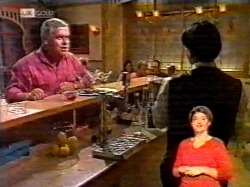 Lou Carpenter, Rick Alessi in Neighbours Episode 2172