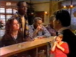 Cody Willis, Drew Grover, Doug Willis, Rick Alessi in Neighbours Episode 2172