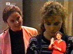 Julie Martin, Debbie Martin in Neighbours Episode 2173