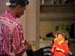 Vikram Chatterji, Debbie Martin in Neighbours Episode 2173