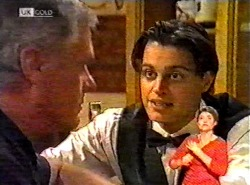 Lou Carpenter, Rick Alessi in Neighbours Episode 2174