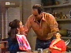 Julie Martin, Philip Martin in Neighbours Episode 2174