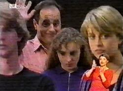 Brett Stark, Philip Martin, Debbie Martin, Danni Stark in Neighbours Episode 2174
