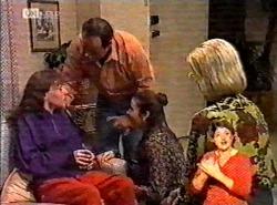 Debbie Martin, Philip Martin, Julie Martin, Helen Daniels in Neighbours Episode 2175