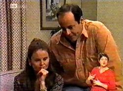 Julie Martin, Philip Martin in Neighbours Episode 2175