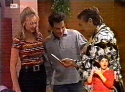 Annalise Hartman, Mark Gottlieb, Doug Willis in Neighbours Episode 2175