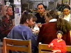 Helen Daniels, Hannah Martin, Philip Martin, Debbie Martin, Julie Martin in Neighbours Episode 2175
