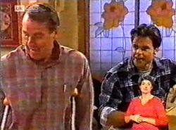 Doug Willis, Andrew MacKenzie in Neighbours Episode 2175