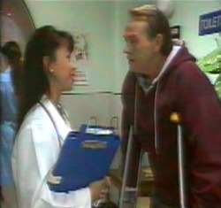 Dr Sung, Doug Willis in Neighbours Episode 2176