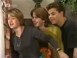 Danni Stark, Brett Stark, Michael Martin in Neighbours Episode 2186