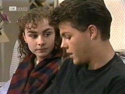 Debbie Martin, Michael Martin in Neighbours Episode 2186