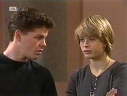 Michael Martin, Danni Stark in Neighbours Episode 2186