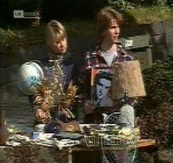 Danni Stark, Brett Stark in Neighbours Episode 2188