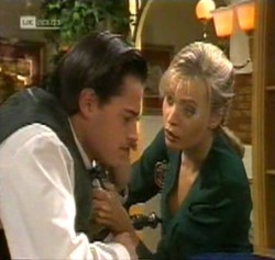 Rick Alessi, Annalise Hartman in Neighbours Episode 2189