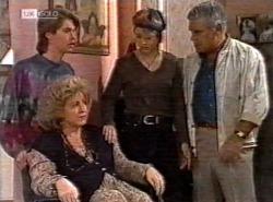 Brett Stark, Cheryl Stark, Danni Stark, Lou Carpenter in Neighbours Episode 2192