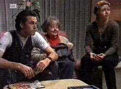Sam Kratz, Marlene Kratz, Danni Stark in Neighbours Episode 2192