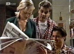 Annalise Hartman, Mark Gottlieb, Rick Alessi in Neighbours Episode 2192