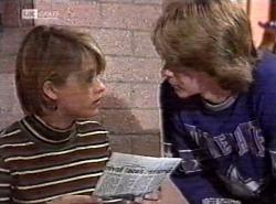 Danni Stark, Brett Stark in Neighbours Episode 2192