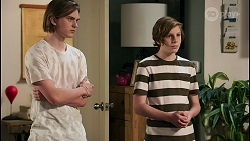 Brent Colefax, Emmett Donaldson in Neighbours Episode 8593