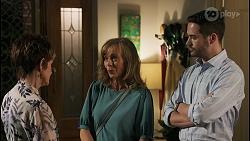 Susan Kennedy, Jane Harris, Curtis Perkins in Neighbours Episode 8593