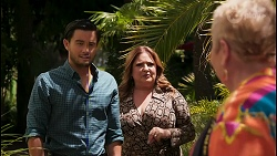 David Tanaka, Terese Willis, Vera Punt in Neighbours Episode 8594