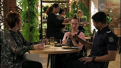 Susan Kennedy, Sheila Canning 2, Bea Nilsson, Levi Canning in Neighbours Episode 8594