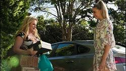 Sheila Canning, Chloe Brennan in Neighbours Episode 8594