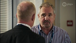 Clive Gibbons, Karl Kennedy in Neighbours Episode 8595