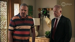 Karl Kennedy, Clive Gibbons in Neighbours Episode 8595
