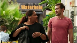 Sheila Canning 2, Ned Willis in Neighbours Episode 8595