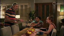 Karl Kennedy, Levi Canning, Bea Nilsson in Neighbours Episode 8595