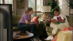 Mackenzie Hargreaves, Hendrix Greyson in Neighbours Episode 8596
