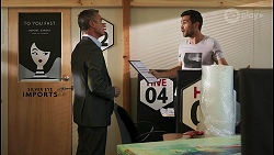 Paul Robinson, Ned Willis in Neighbours Episode 8596