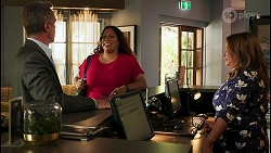 Paul Robinson, Sheila Canning 2, Terese Willis in Neighbours Episode 8596