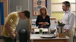 Hendrix Greyson, Jane Harris, Curtis Perkins in Neighbours Episode 8612
