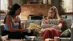 Yashvi Rebecchi, Mackenzie Hargreaves in Neighbours Episode 8612