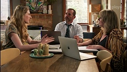 Mackenzie Hargreaves, Toadie Rebecchi, Melanie Pearson in Neighbours Episode 8614
